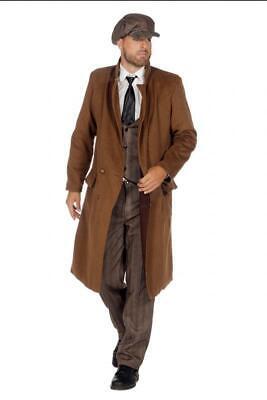 Gangster Anzug Kostüm Mafia 20's er 30 Jahre Roaring Ganove 1920s Gatsby Peaky