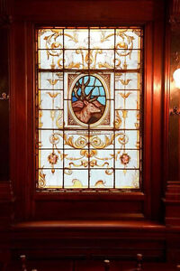 Stained Glass Irish Pub Dividers