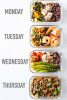 Meal prep and home cooking!