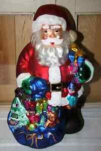 3.  Santa Decorations- See photos