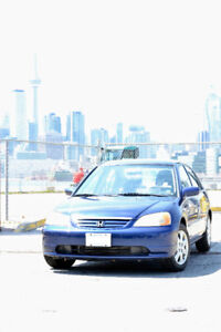 Super well maintained - 2003 Honda Civic (low km)
