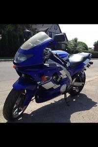 Yamaha WZF600