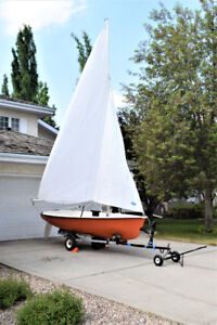 Sailboat for Sale - Chrysler 13 ' with Trailer