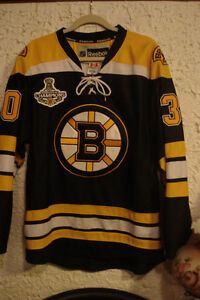 NHL Thomas #30 Boston Jersey