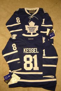 BRAND NEW JR. LEAF JERSEY ALL STITCHED + TAGS STILL ATTACHED!