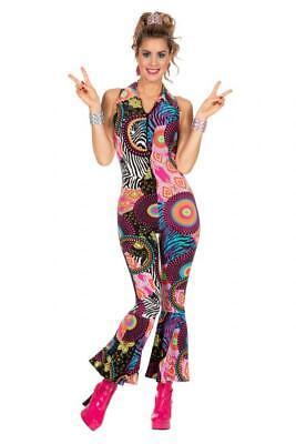 70er 80er Jahre Kleid Kostüm Flowerpower Sexy Hippie Hippy Party Disco - Sexy Disco Kostüm