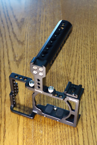Small Rigs Camera Cage with Top Handle for Sony A6000 or A6300