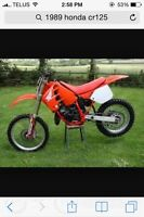 looking for a 1989 honda cr125 part bike