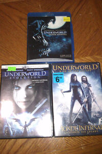 Underworld DVD's and Blu Ray Cambridge Kitchener Area image 1