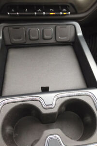 Console cover for Chevrolet and GMC trucks