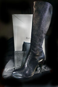 RoccoP High boots , 11cm Heels,Size8.5 , MadeinItaly