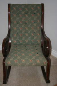 Antique Rocking Chair about 125 years old