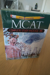 MCAT examcrackers 10th edition textbook set- BRAND NEW / SEALED
