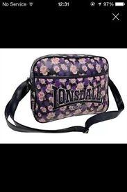 FLORAL LONSDALE BAG