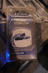 Car stereo connector