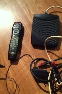 Shaw cable box with remote