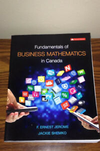 Fundamentals of Business Mathematics in Canada - 2nd Edition