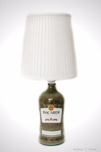 'BACARDI LIQUOR' Bottle Lamp