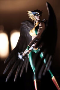 Dc collectibles Raven Hawkgirl statues figurines