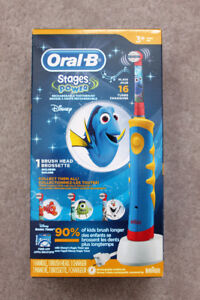 New in box Oral-B Stages Power Brush - Disney Finding Dory $25