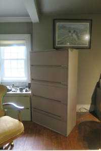 Storwall 5 Drawer Legal Filing Cabinets