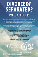 DivorceCare - open enrollment; start any week!