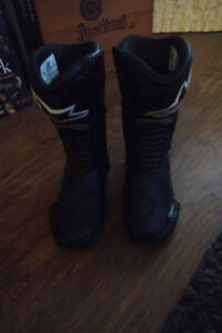 Ladies Size 8 Alpine Stars SMX 6 Motorcycle Boots *like new*