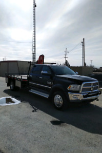 2014 RAM 4500 LARAMIE 6.7 Cummins Picker