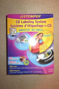 CD Stomper Labeling Kit for sale