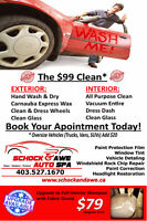 SCHOCK & AWE AUTO SPA *** $99 CLEAN ***