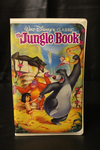 Disney Black Diamond Classic Edition VHS Movies