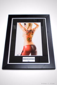 'HARLEY QUINN/SUICIDE PIN UP PRINT - SIGNED BY NATHAN SZERDY'
