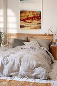 Urban Outfitters Nikko Marled Tie Duvet Cover