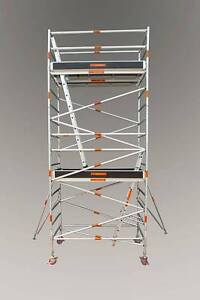ALUMINIUM MOBILE SCAFFOLD 1300 WIDE 2500 LONG 5800 PLATFORM HEIGH Pyrmont Inner Sydney Preview