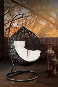 Outdoor Hanging Egg/ Pod Chair - Hand Woven -  Most Popular Tullamarine Hume Area Preview