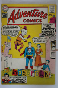 Adventure Comics#286 Bizarro! Mr. Mxyzptlk! comic book