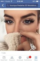 Long lovely lashes with miracle mascara