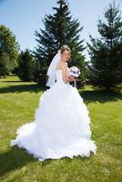 Robe de mariée  grandeur 10