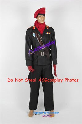 Ocelot Cosplay Costume include hat and belts ACGcosplay