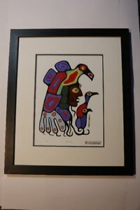 Norval Morrisseau - Serigraphic 'INNERSELF'