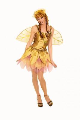 Feen Fee Elfe Tinkerbell Kostüm Kleid Elfen Damen Mädchen Feenkostüm (Tinkerbell Kostüm Mädchen)