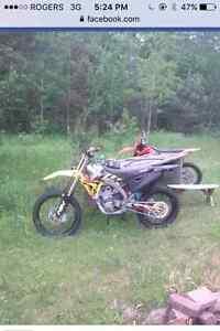 Clean  2009 RMZ 450