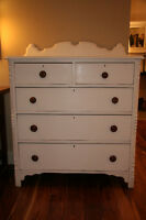French Country Antique Chest of Drawers