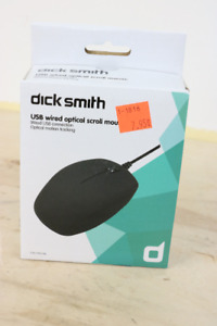 **1.5 METRE CABLE** Dick Smith USB Wired Mouse, CN5106