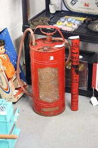 2 Antique Fire Extinguishers NEW PRICE