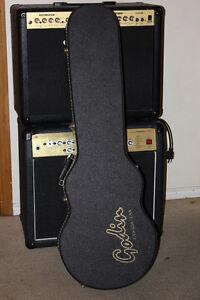 Case rigide Godin pour guitare electrique