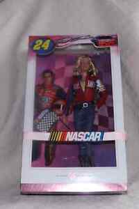 Collectible New In box Nascar Barbie Jeff Gordon Doll