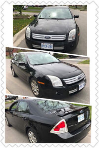 Pre-loved 2007 Black Ford Fusion Se