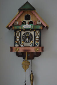 Poppo Quartz Cuckoo Clock made in Japan – Bellow needs changing