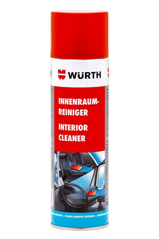 Würth INNENRAUMREINIGER 500 ml NEU! Top Qualitat! Interior Cleaner